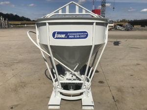 Jcrane Concrete Bucket Fork Attachment