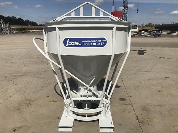 Jcrane Concrete Bucket Fork Attachment