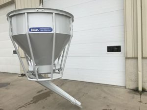 Jcrane Concrete Bucket Side Chute